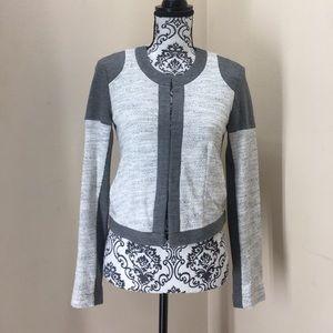 Cabi color block structured soft blazer